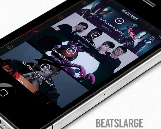 BeatsLarge Iphone Concept by Jonathan Kelley