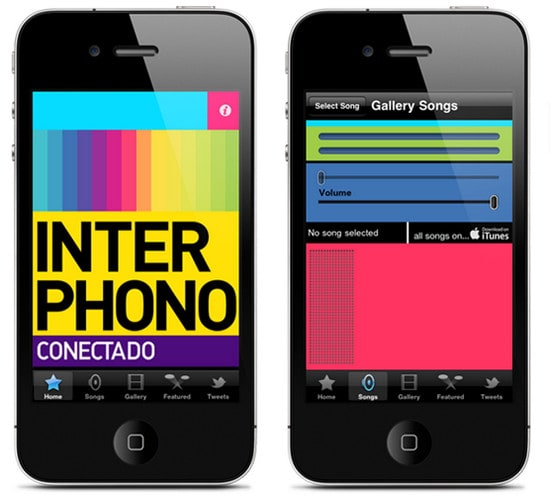 Interphono - Iphone app by Abraham Vivas