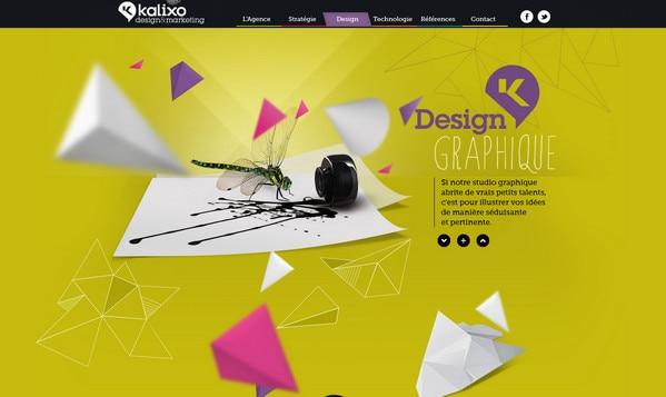 Website Designs with Depth Perception: Wonderful Examples - Designmodo