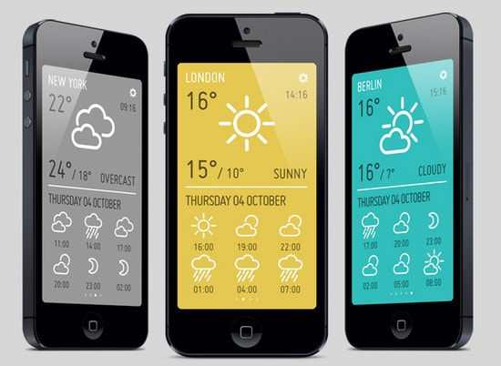 MINIMETEO for iPad by Alberto Antoniazzi