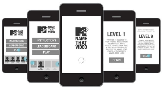 MTV Mobile & App concepts by Andrew Couldwell
