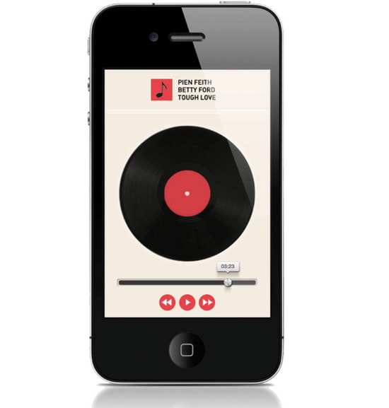 MUSIC APP by Roy van Laar