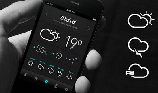 Minimal Weather by Pablo Chavida