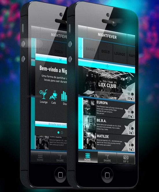 NightFever app by Michael Nunes