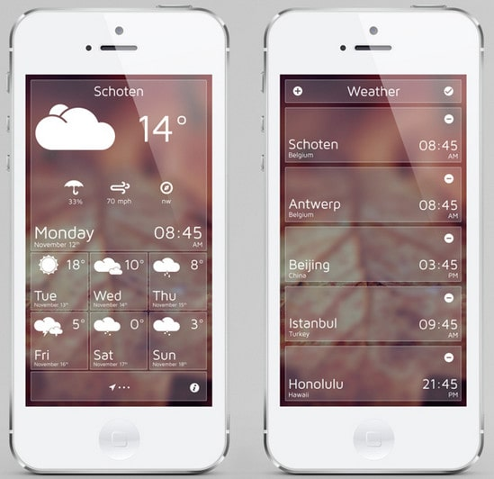 Weather App by Ben Wouters