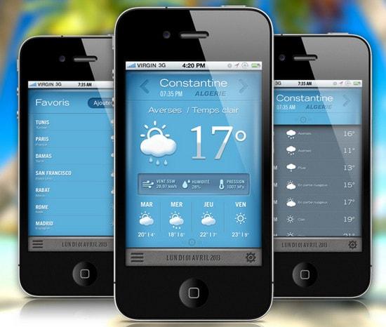 Weather GUI App by Yasser Achachi