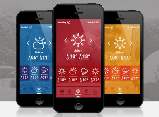 WeatherHelper app by Michael Nunes