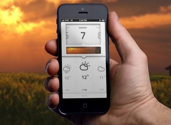 weather application by Tim Roeleveld