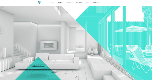 Enthralling website designs featuring interior and for 3d interior design websites