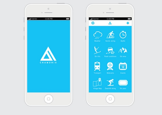 Use of flat design in mobile app interfaces best examples designmodo Architecture designing app