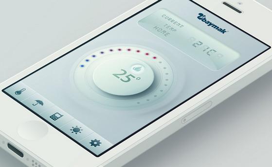 Gas combi remote control app by Ali O