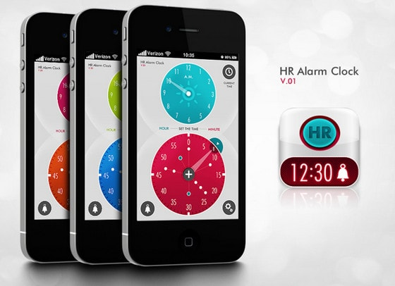 HR Alarm Clock by Ronge Ruan