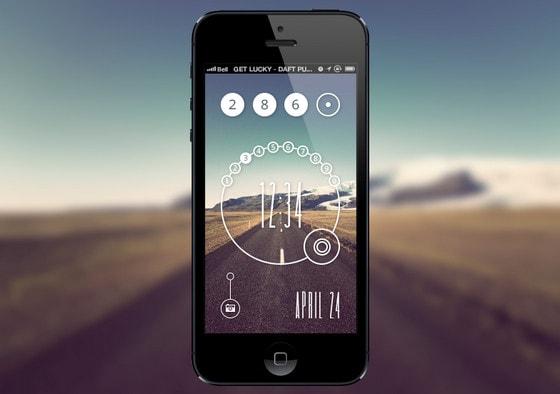 Lock Screen Concept by Eli Williamson