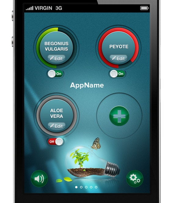 Plant monitoring tool by Myroslav Galavai