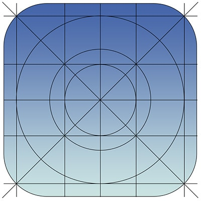 Grids And Icons For Creating Ios 7 Templates Designmodo