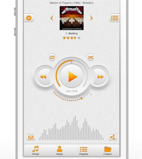 Music app by Andrew Fuller