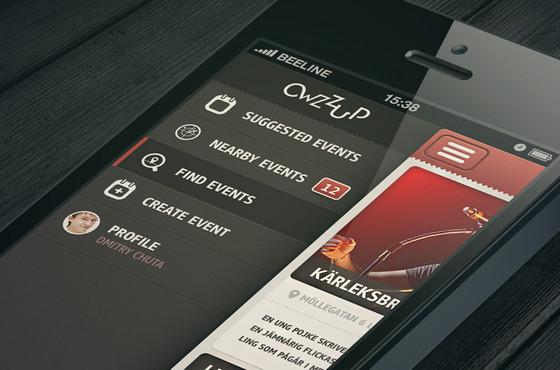 Owzzup App by Dmitriy Chuta