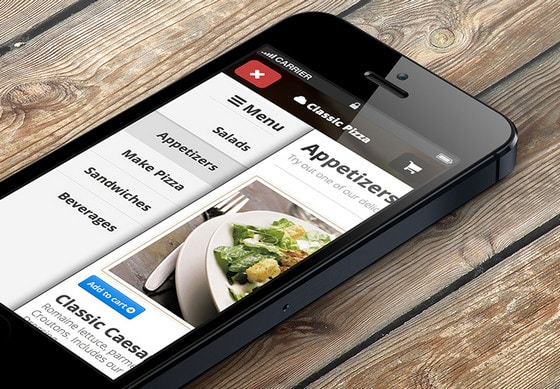 Responsive Side menu with css for iphone by Tamerlan Soziev