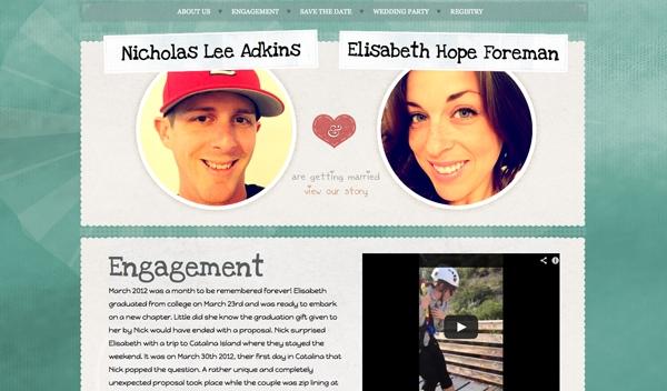 Tips for a Perfect Wedding Website - Designmodo