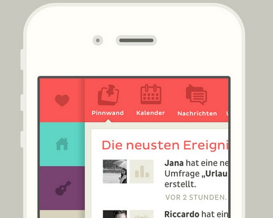 clyp - iPhone Sidebar by Riccardo Carlet