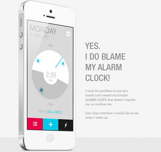 Alarm Clock App by Samuel Bednar