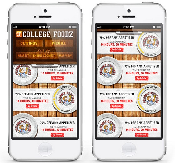 Image result for college foodz app