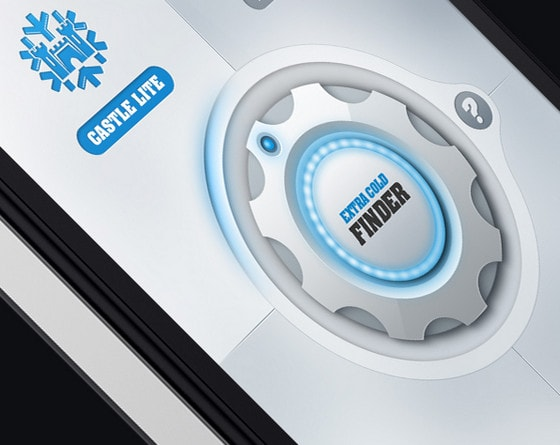 Extra Cold Finder iOS by Emile Rohlandt
