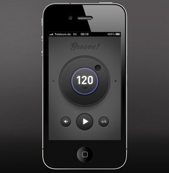Simple metronome App by Tom Reinert