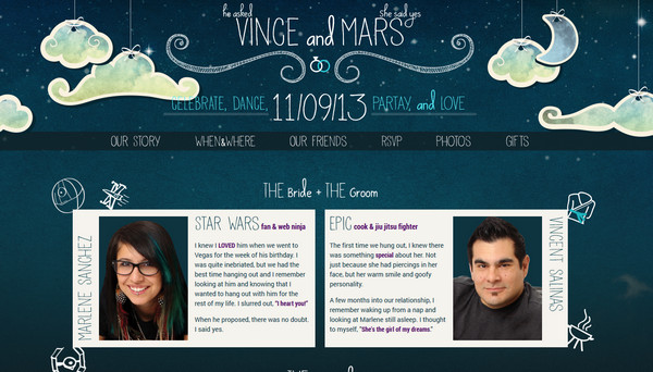 Vince and Marlene