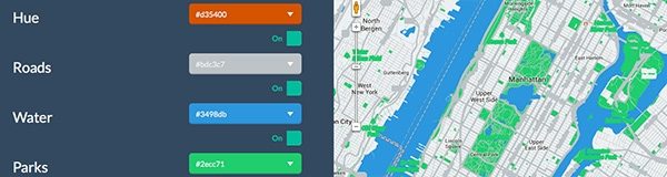 How to Make Custom Flat Styled Google Maps with jQuery and Flat UI