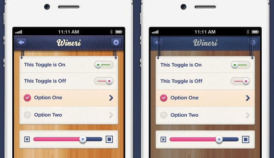 iOS iPhone App Modal Options by Mason Yarnell