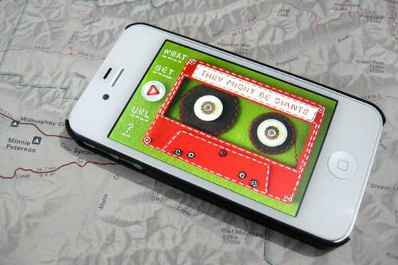 iPhone App by Hine Mizushima