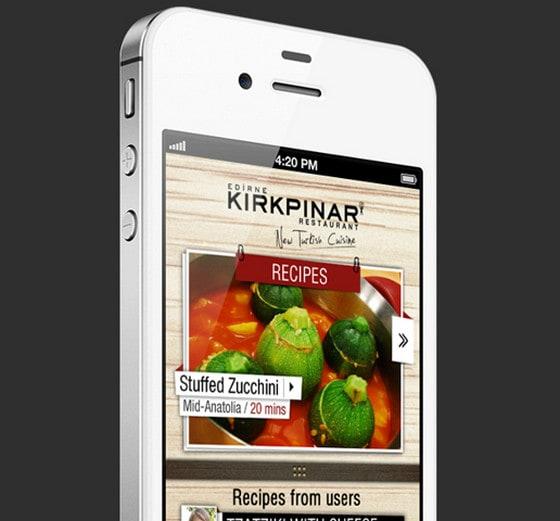 mobile app by Ramazan Turk
