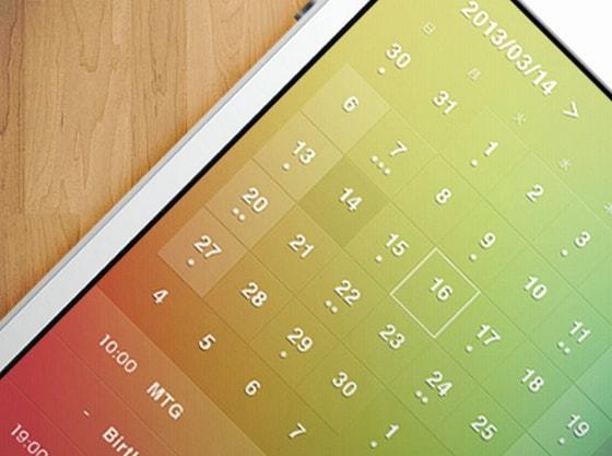Calendar by chocolatina(Shoko Oyamada