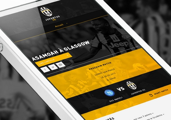 Juventus mobile version by Ammar