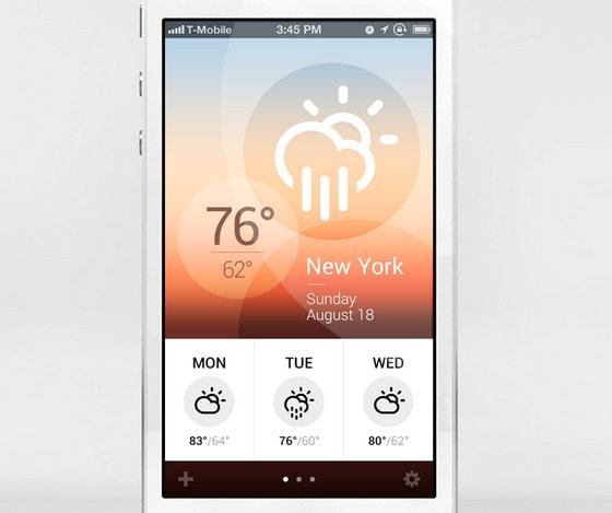 Weather App by Jan Erik Waider