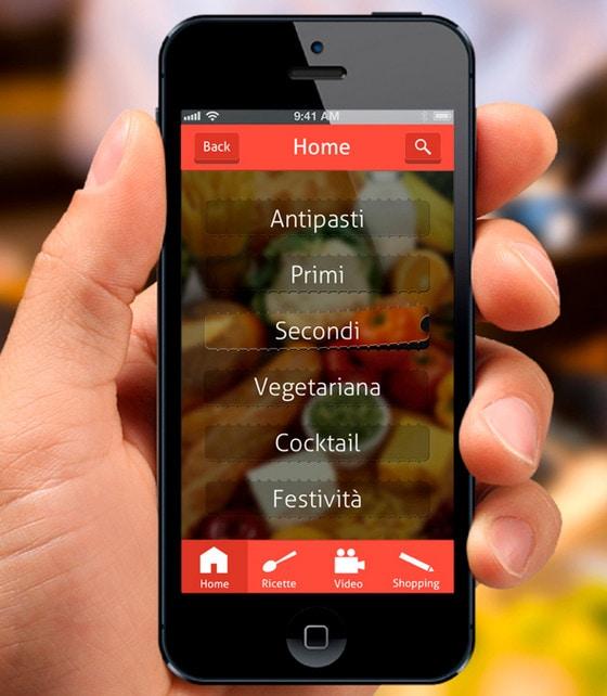 recipe app by Ste Ui