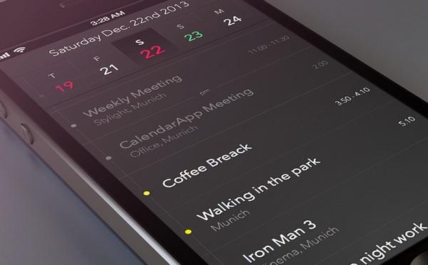 CalendarApp - Details by Tobias Negele