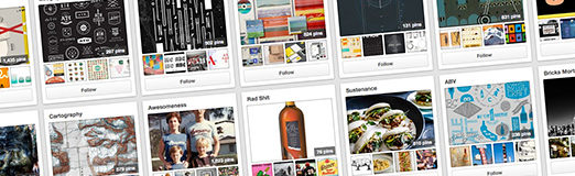 Design Inspiration: Designers to Follow on Pinterest