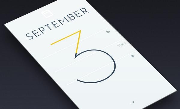 Simple Calendar App by Brian Miller
