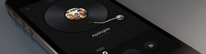 An Air of Sophistication and Mystery Gorgeous Dark Mobile App Interfaces