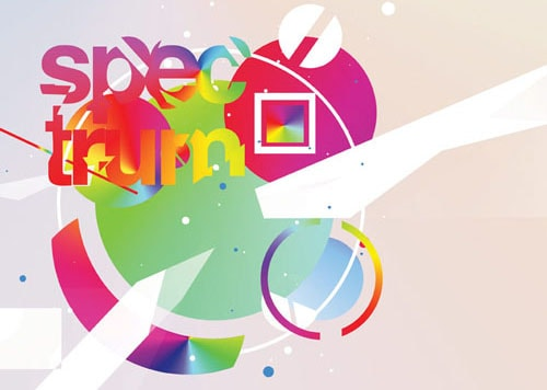 Creating a spectrum poster