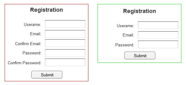 5 ux tips for designing more usable registration forms designmodo here are a few forms that that are spot on thecheapjerseys Image collections