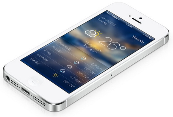 ios 7 Weather by Chunli Liu