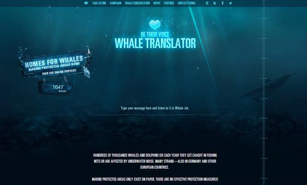 Whale Translator