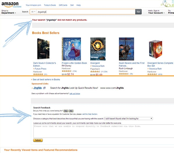 amazon search example