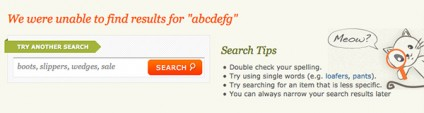 """5 Proven Ways to Make """"No Results"""" Pages Work for You"""