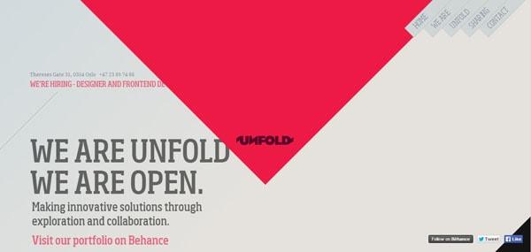 unfold no