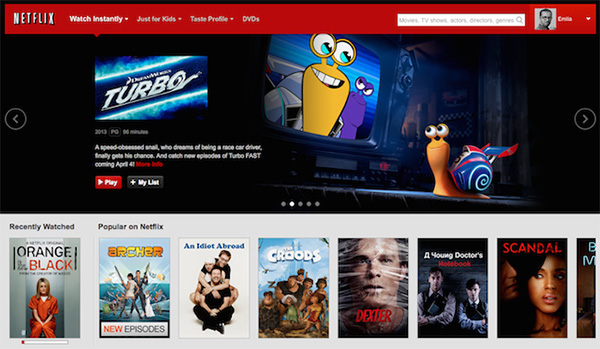Netflix design today
