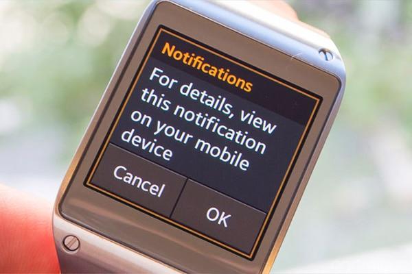 gear notification